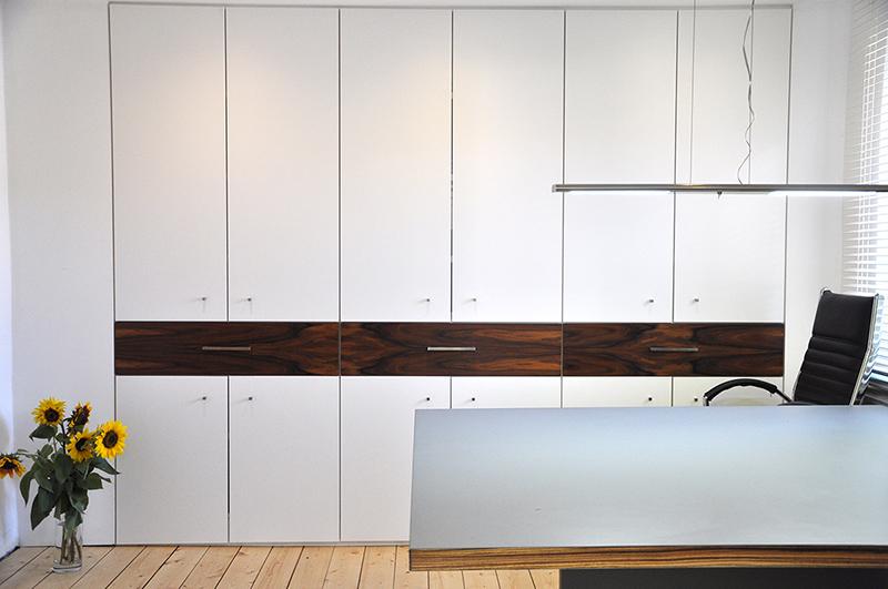 Einbauschrank Büro schreinerei knipp schränke für gehobenes büro ambiente